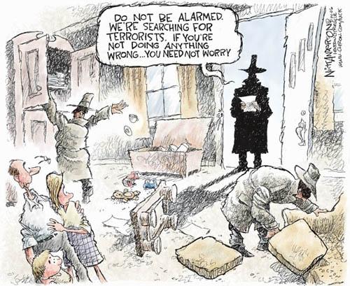 bill of rights political cartoon